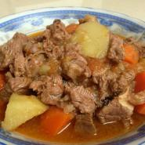 红烧牛肉土豆