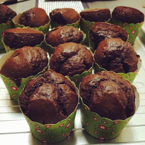 巧克力马芬蛋糕