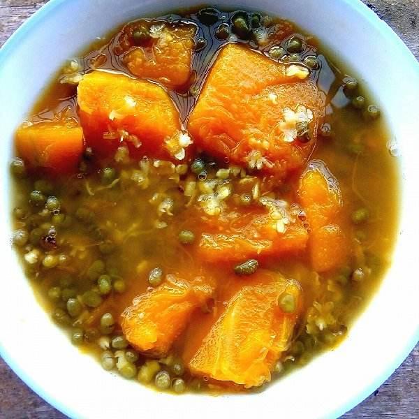 绿豆南瓜粥
