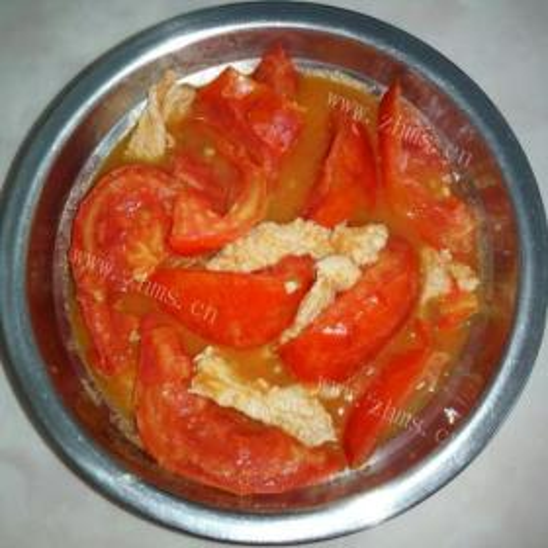 番茄炒猪肉
