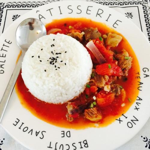 番茄饭的做法