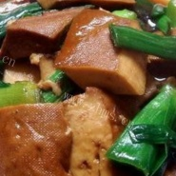 煮马桥豆干