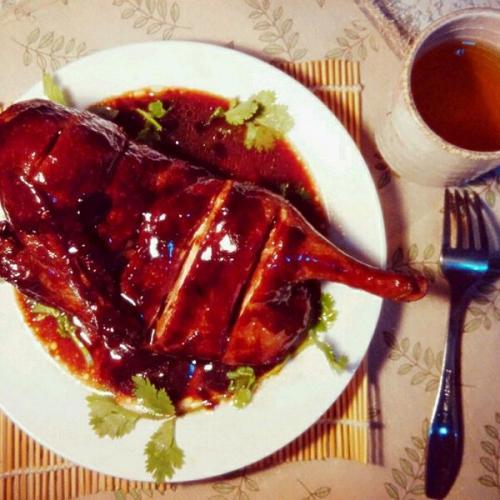 泰式辣酱可乐鸭