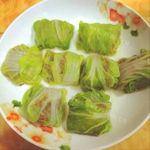 蟹柳白菜卷