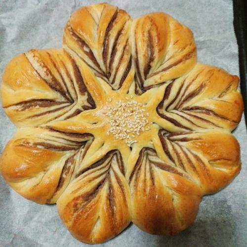 太阳花面包