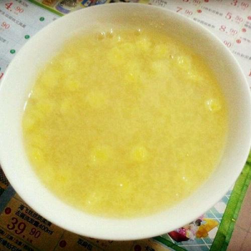 特色美食玉米豆腐羹
