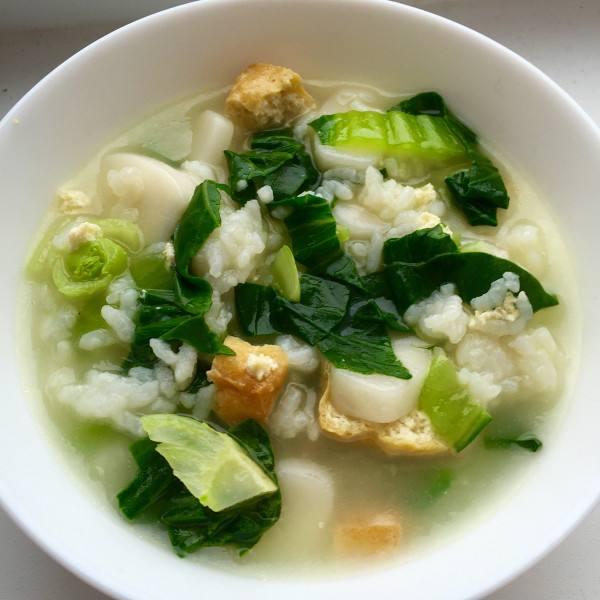 青菜年糕汤