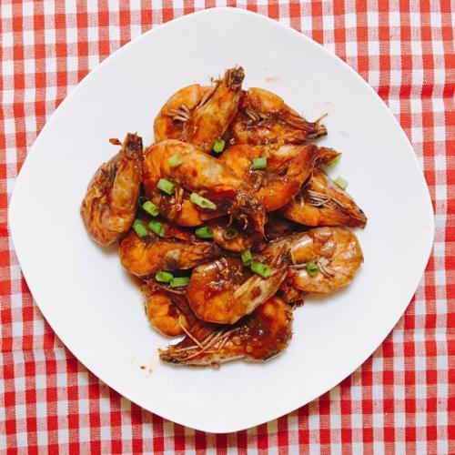 批萨汁焖大虾