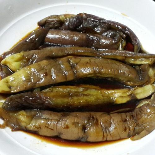 好吃的鱼味茄子