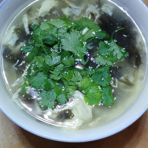 蛋花紫菜汤