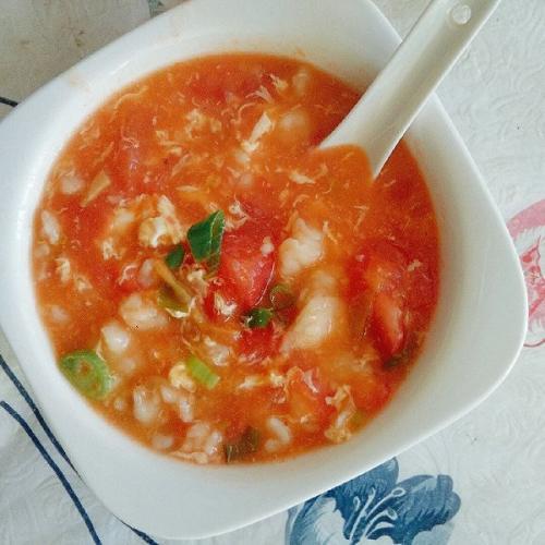 番茄土豆疙瘩汤