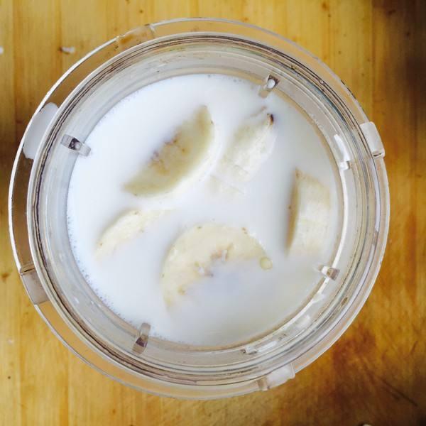 香蕉燕麦冰激凌