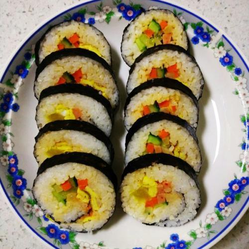 美味百花紫菜卷