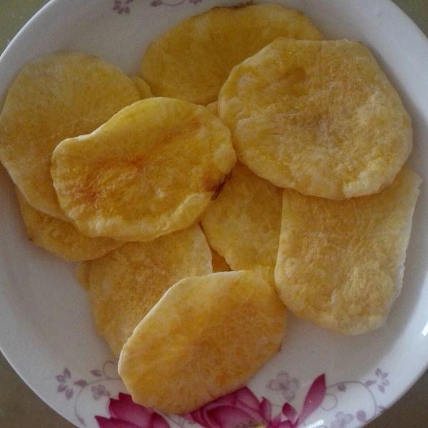 自己做的DIY低脂薯片
