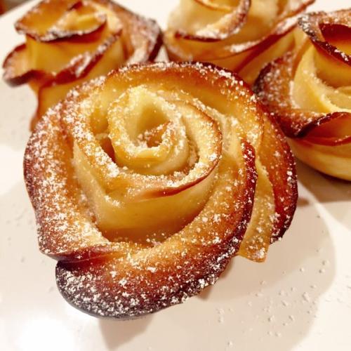 玫瑰苹果派