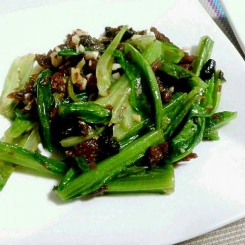 香菇油麦菜