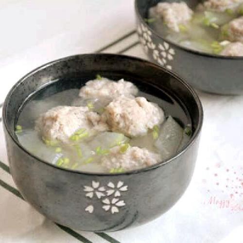 冬瓜肉丸汤做法