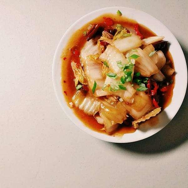 鱼香大白菜