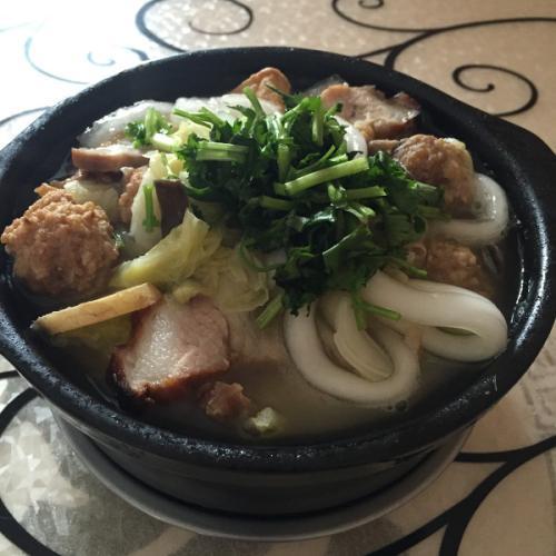 烩什锦豆腐丸子