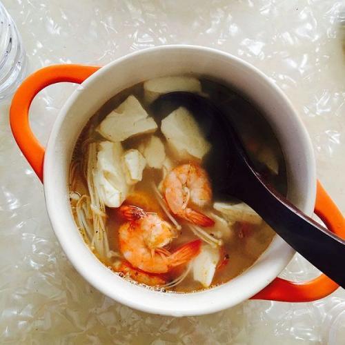 田园海鲜汤