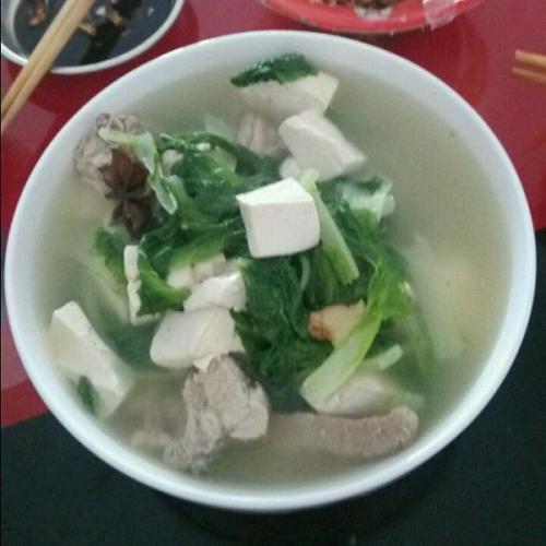 排骨白菜汤