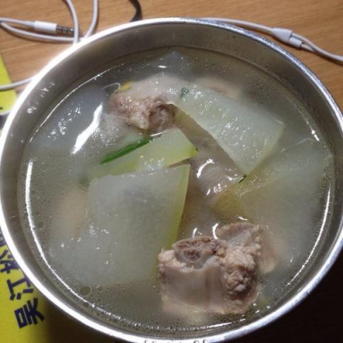 有营养的排骨冬瓜汤