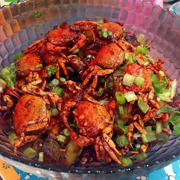 香辣梭子蟹