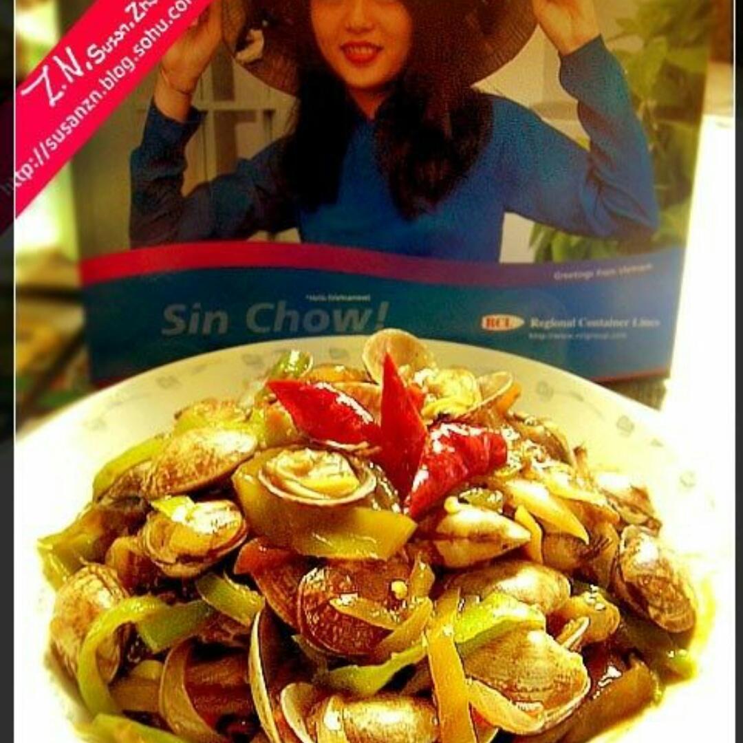 印式咖喱炒花蛤