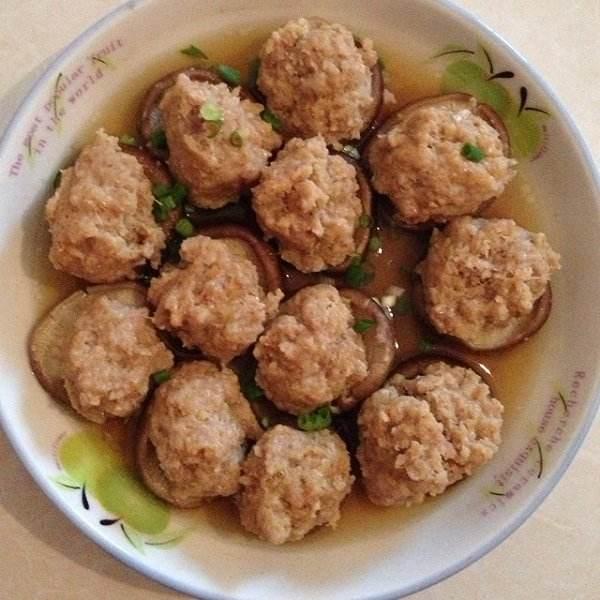 家常菜香菇丸子