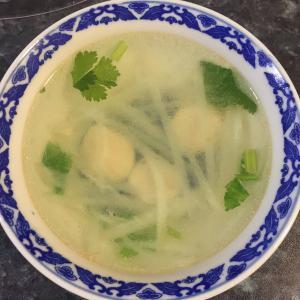 萝卜虾皮汤