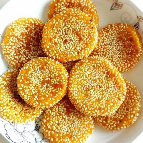 香酥南瓜饼