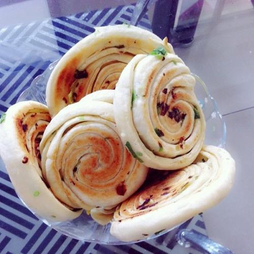 葱花发面饼