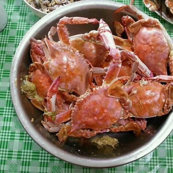 清蒸海螃蟹