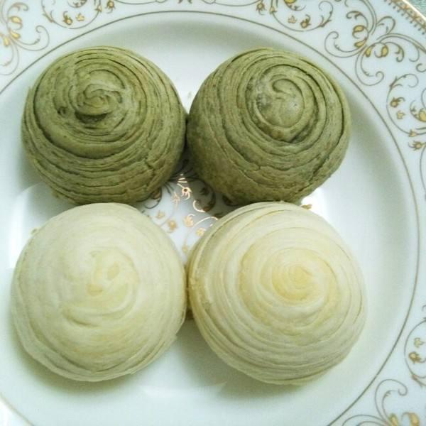 抹茶豆沙酥