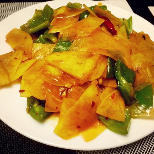 黑椒土豆片