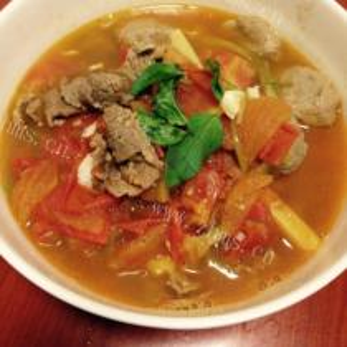 牛肉西红柿汤