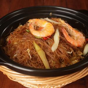美味虾头油煲饭