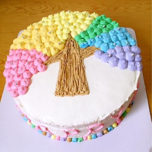 卡通小蛋糕