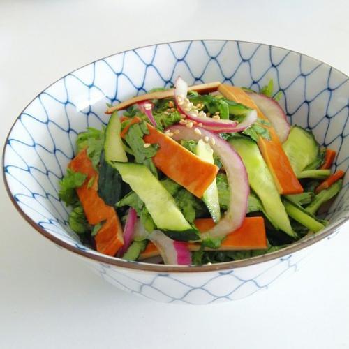 海米拌黄瓜