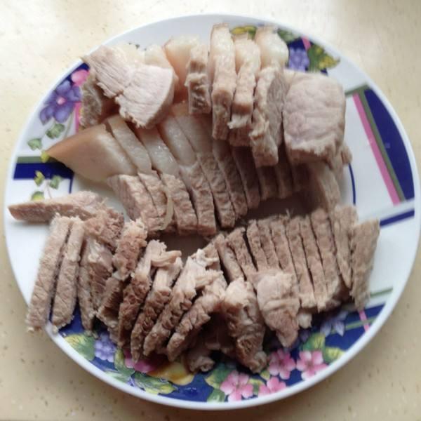 白切五花肉