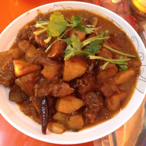 红薯桂圆炖牛肉