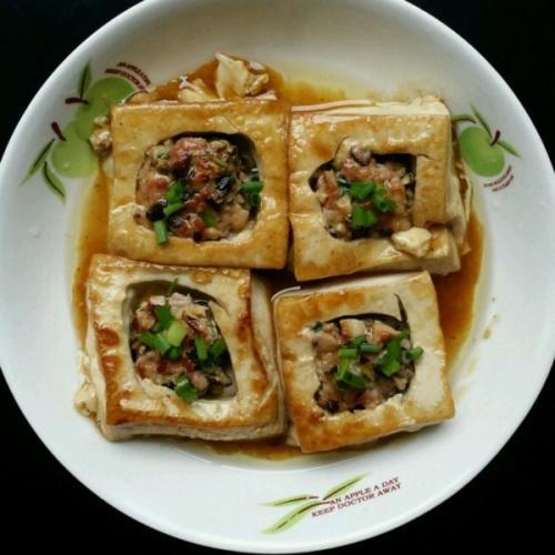 红烧酿豆腐