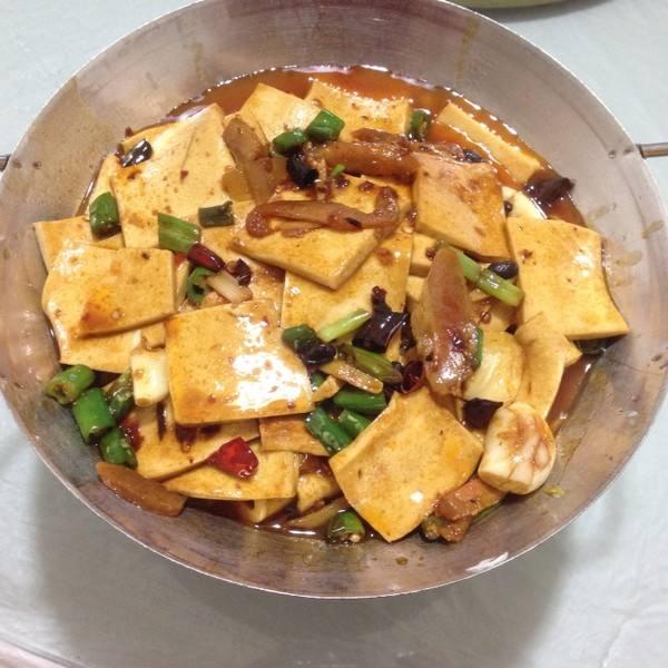 白菜烩脆皮豆腐