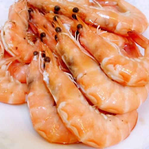 白灼弹琴虾