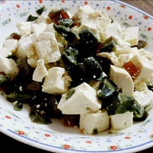 青黄皮蛋嫩豆腐