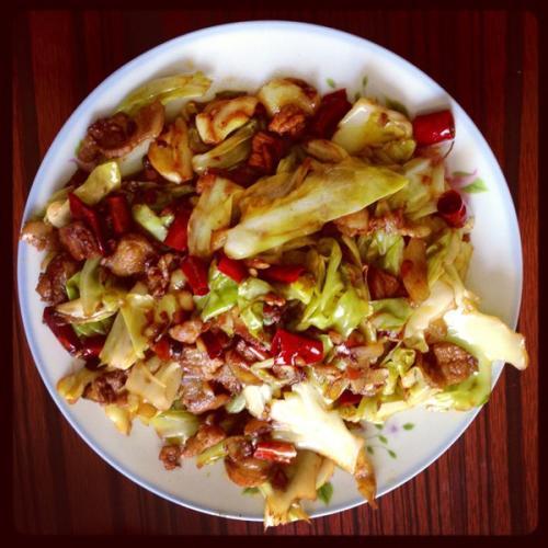 西红柿炒椰菜
