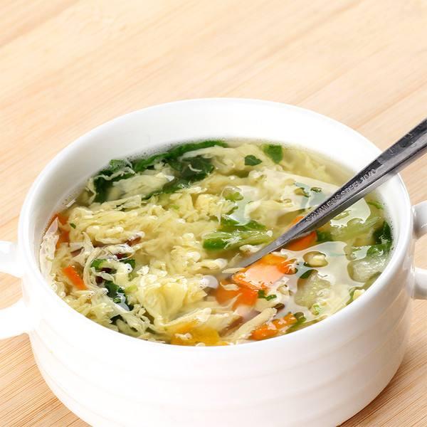 白菜蛋花汤