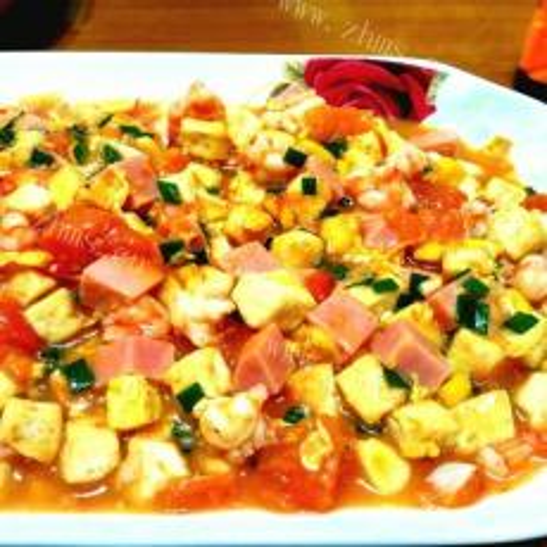 美味粉蒸肉玉米豆腐