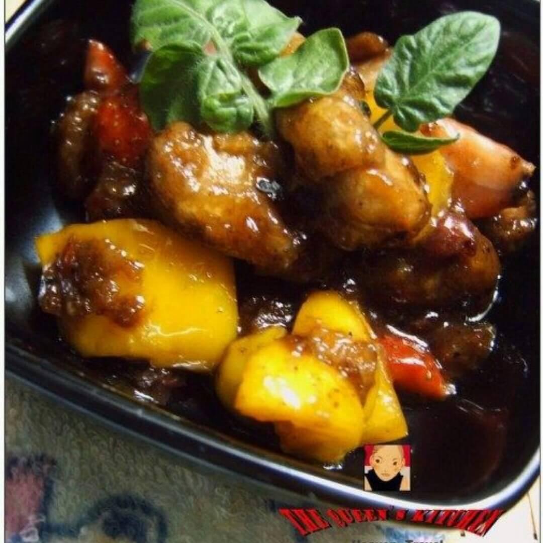 拔丝草莓咕噜肉