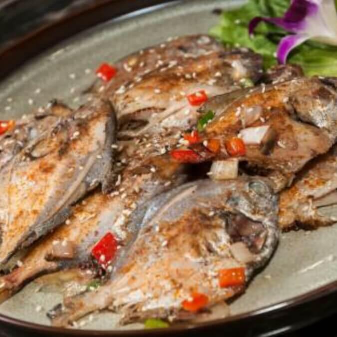 铁板刀鲳鱼
